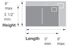 post card dimensions